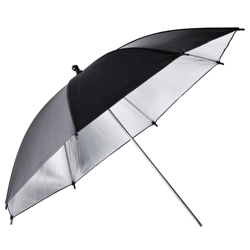 Ομπρέλα Ανάκλασης ασημί 112cm